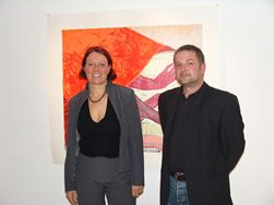 Lisa Huber mit Ralf Röll